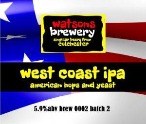 Brew 2 : West Coast IPA
