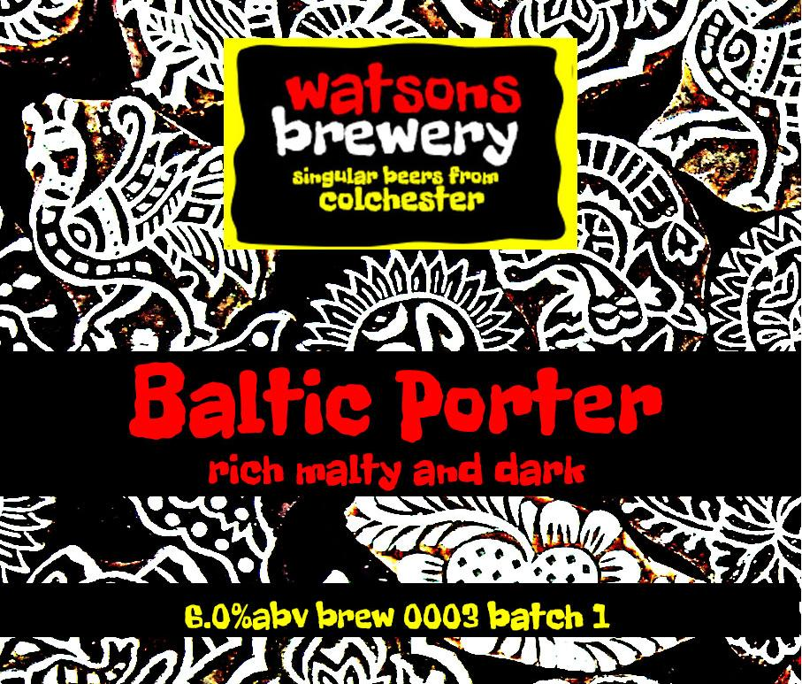 Brew 3 : Baltic Porter