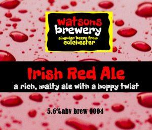 Brew 4 : Irish Red Ale