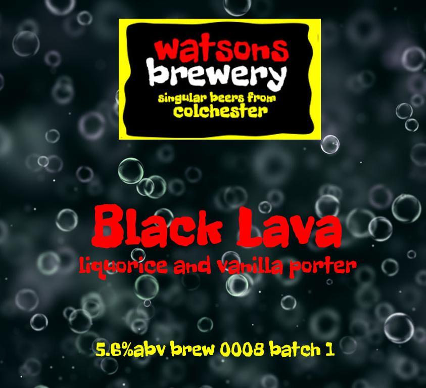 Brew 9 : Black Lava