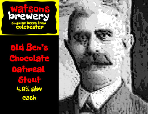 Brew 21 : Old Ben's Chocolate Oatmeal Stout