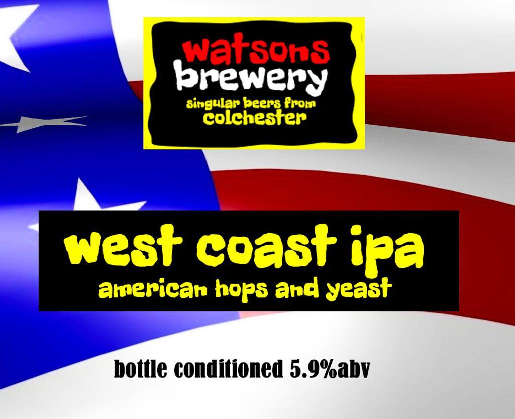 Brew 8 : West Coast IPA