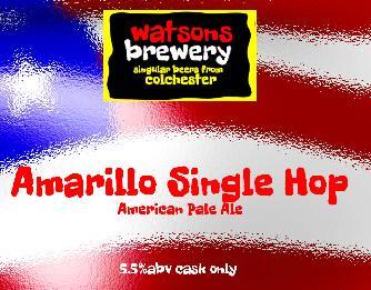 Brew 14 : Amarillo Single Hop American Pale Ale