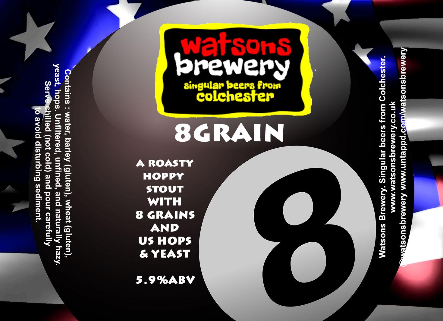 Brew 24 : 8 Grain American Stout