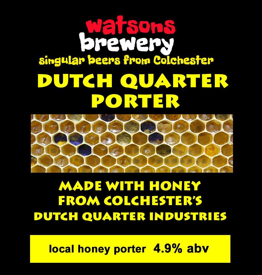 Brew 29 : Dutch Quarter Porter