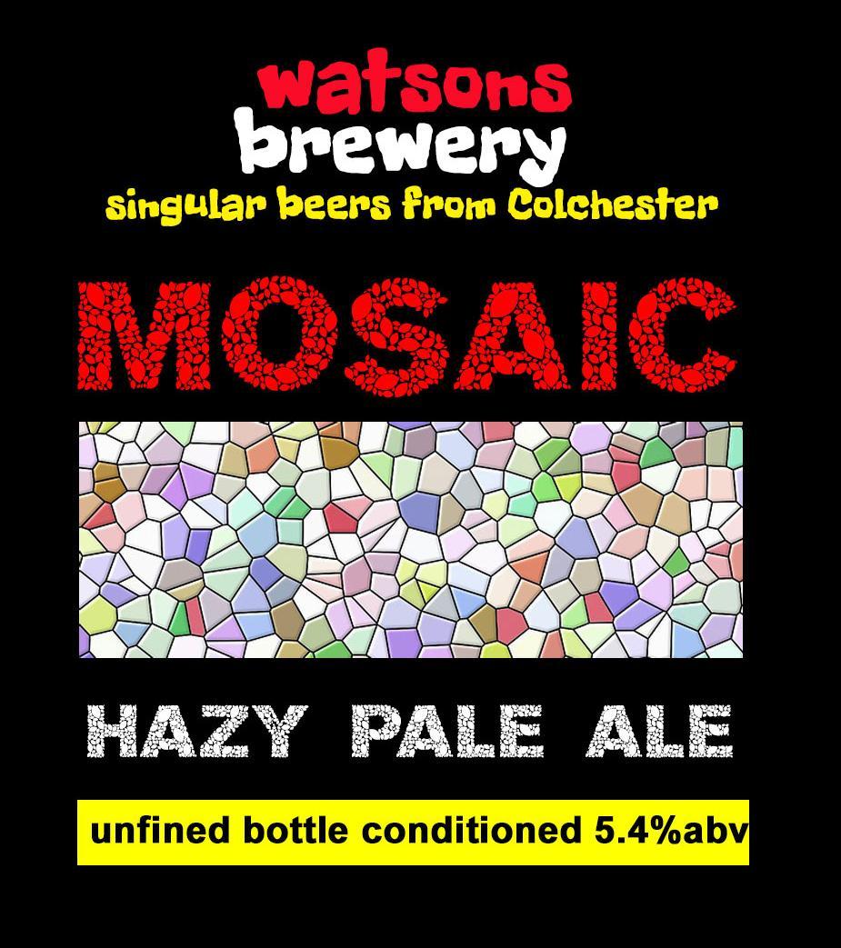 Brew 31 : Mosaic Pale Ale
