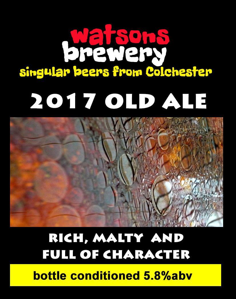 Brew 32 : 2017 Old Ale