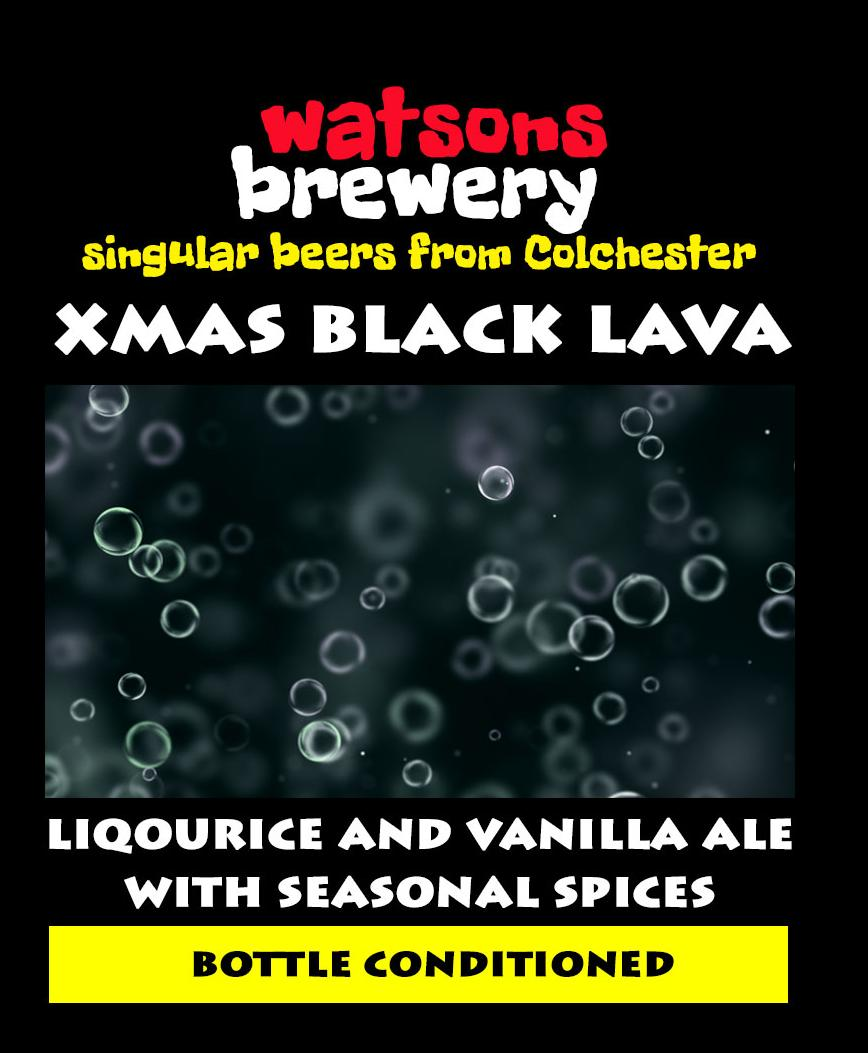 Brew 33 :  Xmas Black Lava