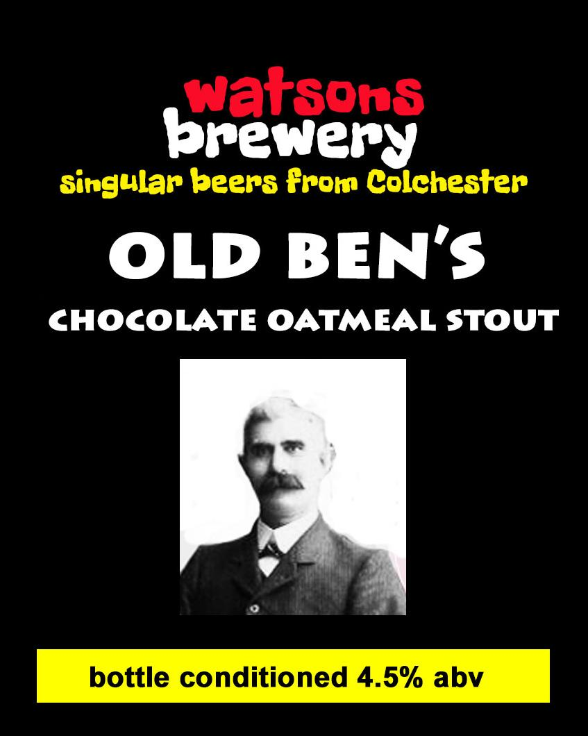 Brew 39 : Old Ben's Chocolate Oatmeal Stout