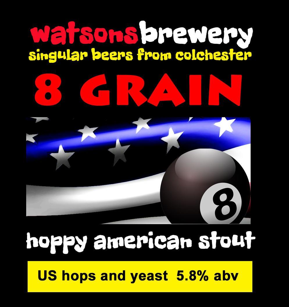 Brew 45 : 8 Grain American Stout
