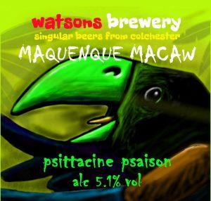 Brew 77a : Maquenque Macaw