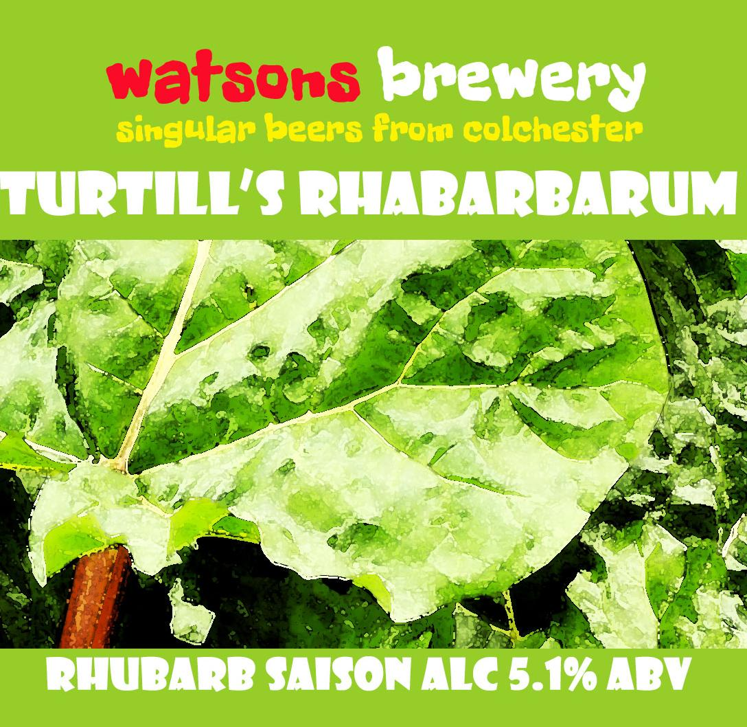Brew 77b : Turtill's Rhabarbarum