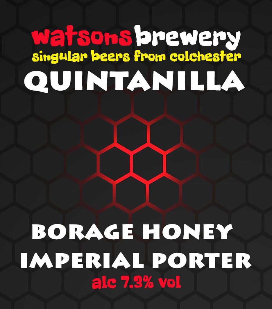 Brew 83 : Quintanilla Borage Honey Imperial Porter