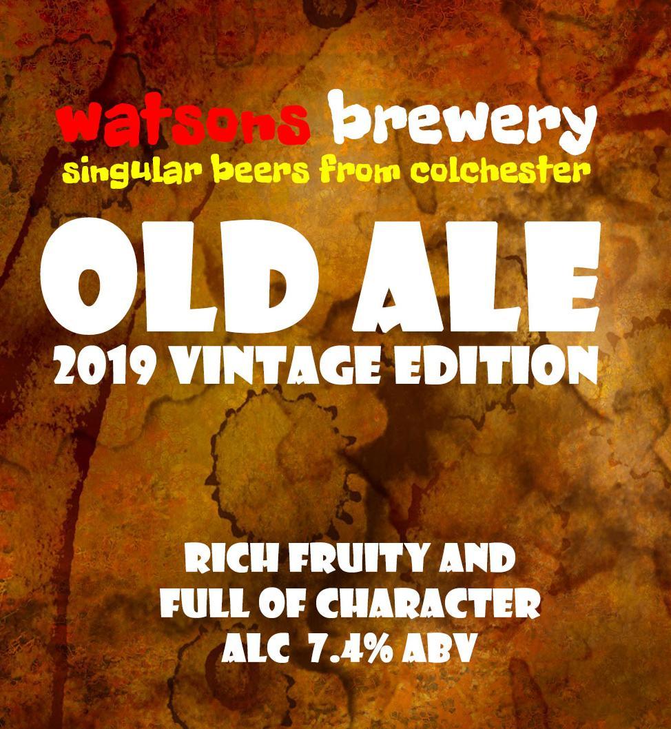 Brew 91 : Old Ale 2019 Vintage Edition