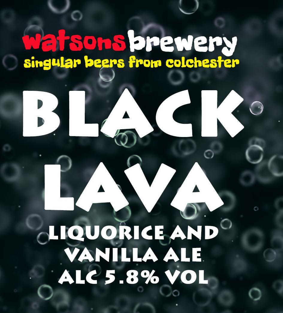 Brew 101 : Black Lava
