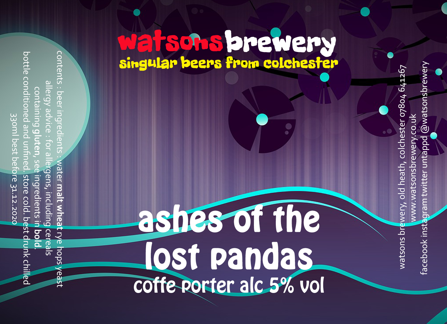 Brew #104 Ashes of the Lost Pandas
