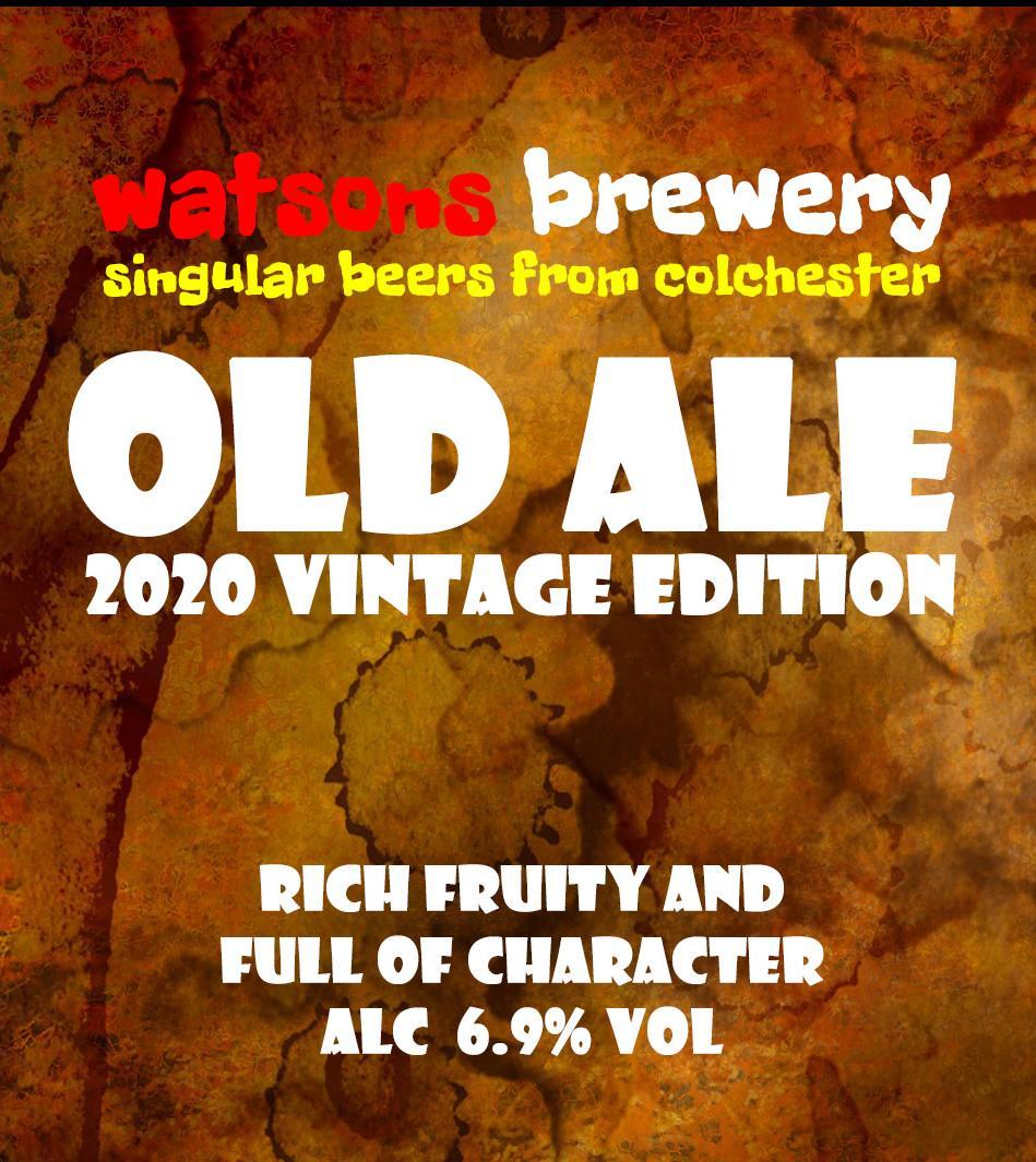 Brew 111 : Old Ale 2020 Vintage Edition