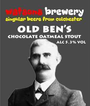 Brew #115 : Old Ben's Chocolate Oatmeal Stout