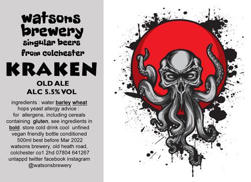 Brew 119 : Kraken Old Ale