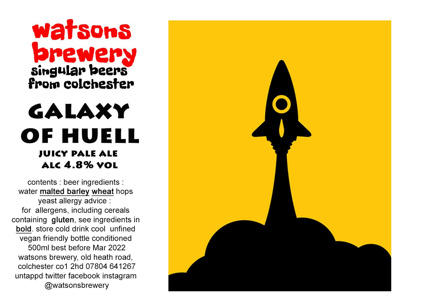 Brew 121 : Galaxy of Huell